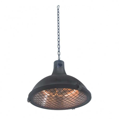 Lámpara calentadora eléctrica de techo