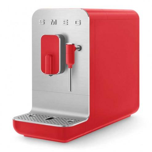 Cafetera Superautomática con Vaporizador 50's Style Roja