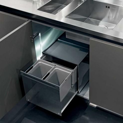 Cubos Basura Reciclaje BOX para Mueble Cocina
