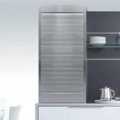 Kit para mueble persiana cocina aluminio satinado natural