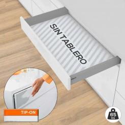 Cajón Tandembox M TIP-ON BLUMOTION 65 kg Kit SIN Tablero