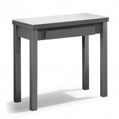 Mesa Cocina Libro de Cristal y MFD + Cajón