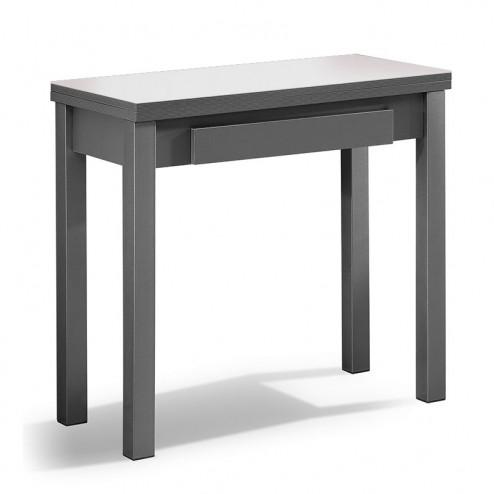 Mesa Cocina Libro de Cristal y MFD + Cajón | Comprar Ahora