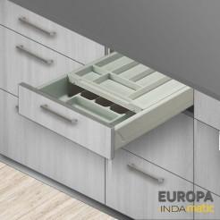 Cajon cocina doble cubertero PVC Europa - varias medidas