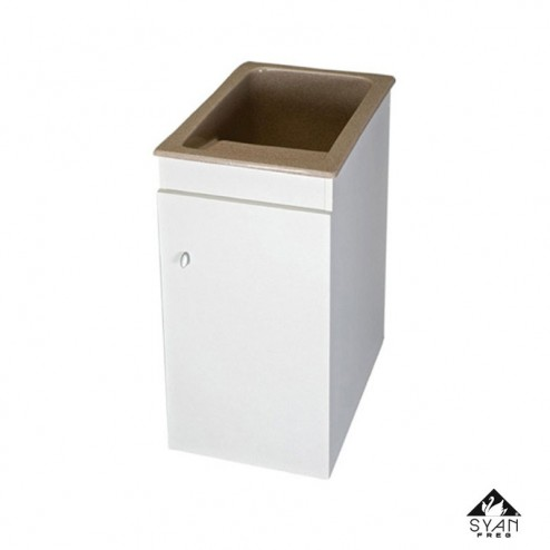 Mueble lavadero-pila melamina Apolo