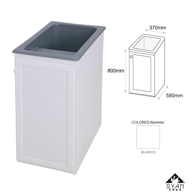 Mueble lavadero pila aluminio apolo online - Mueble pila lavadero ...