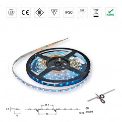 Rollo 5m Luces 12V Strip Led
