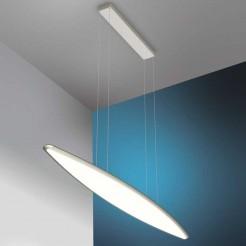 Lámpara Techo Led 36W 3740 lm Inox y Cristal Sky Emozione