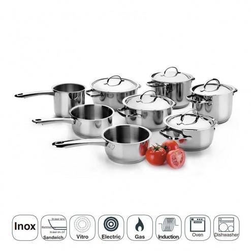 Batería de Cocina 8 Piezas Basic