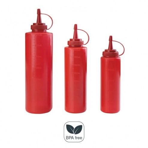 Botella Biberón Roja
