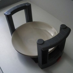 Soporte Platos Diametro 170-320 ajustable (1 UNIDAD)