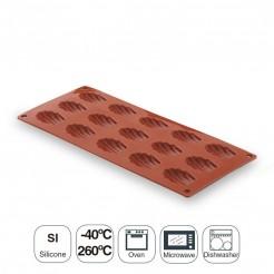 Molde Madalena Pequeña 15 Cavidades Silicona Pastryflex