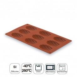 Molde Madalena 9 Cavidades Silicona Pastryflex