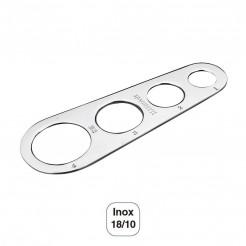 Medidor de Pasta 4 Medidas Inox