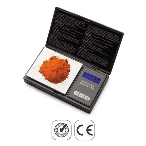 Báscula de Precisión de Bolsillo 650 g