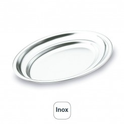 Fuente Oval Inox 18% Cr.