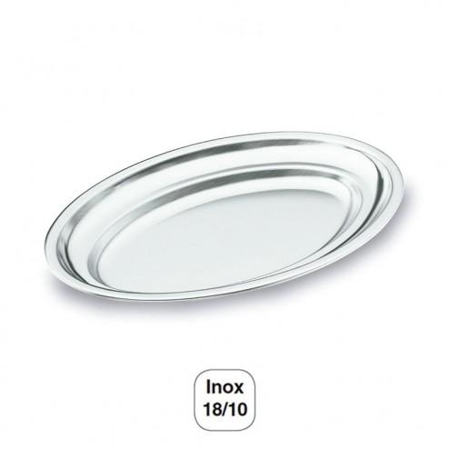 Fuente Oval Pulido Satinado Inox 18/10