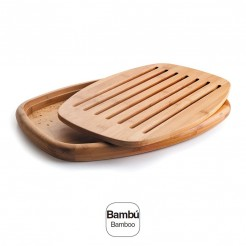 Tabla Oval de Corte Pan