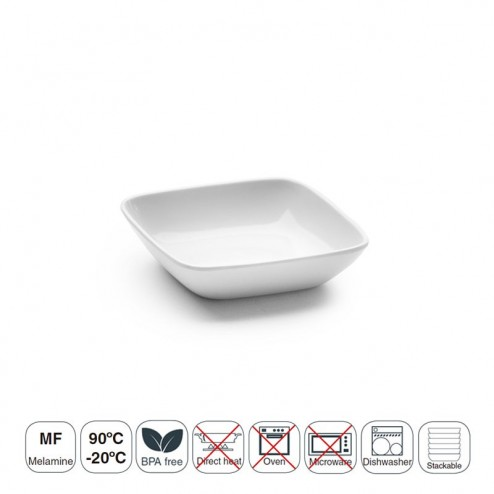 Bandeja Delicatessen 10x10 White Classic