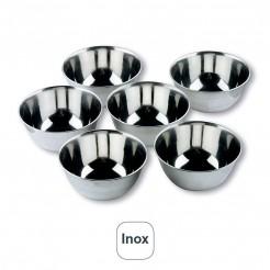 Set 6 Bols Pequeños Inox