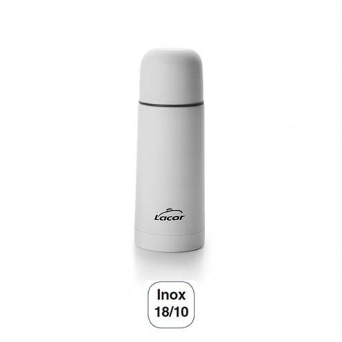 Termo Soft Touch White Inox 18/10