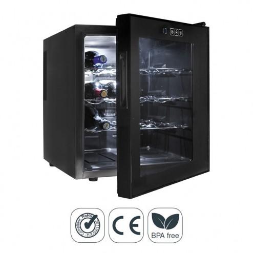 Armario Refrigerador Eléctrico 46 l/70 W - 16 Botellas Black Line