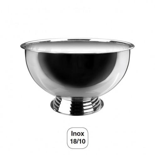 Enfría-Champán Semiesférico con Base Inox 18/10