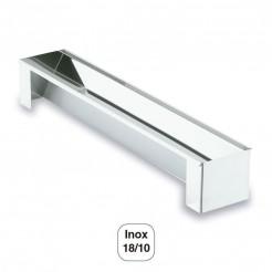 Molde 1/2 Caña Desmontable Triangular Inox 18/10