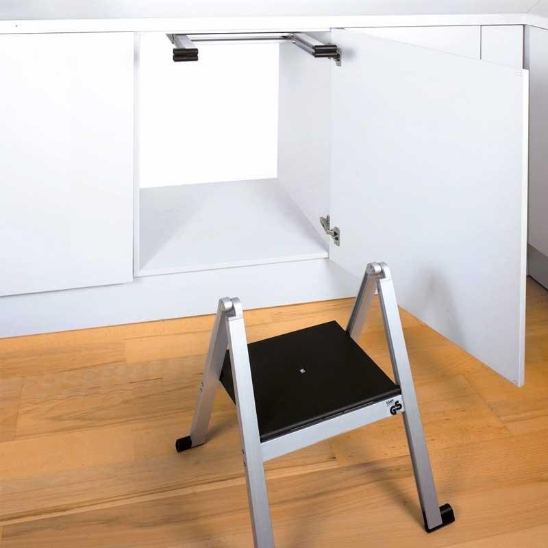 escalera plegable oculta para cocina On escalera de cocina plegable
