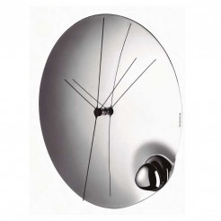 Reloj de Pared 32 cm Acero Inoxidable Acqua