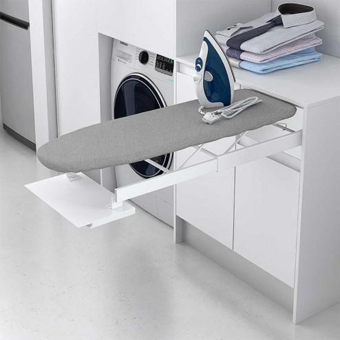 Herraje tabla de planchar extraible para mueble for Mesa planchar plegable