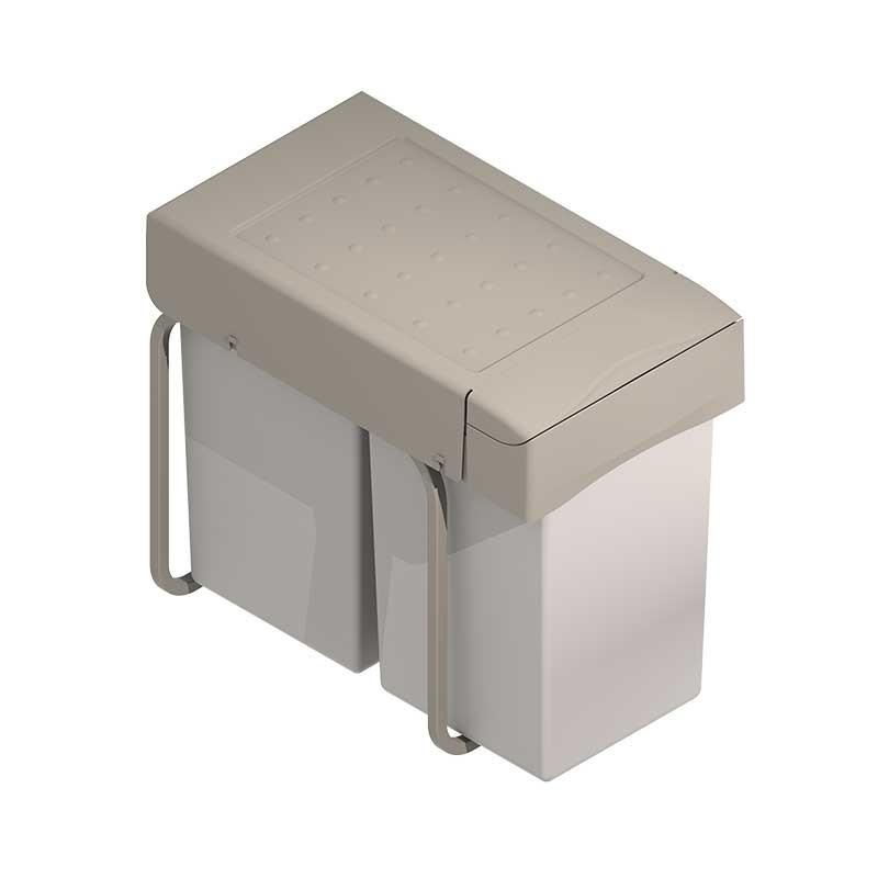 Cubo de basura rectangular para mueble de cocina 14 14 for Cubo basura cocina