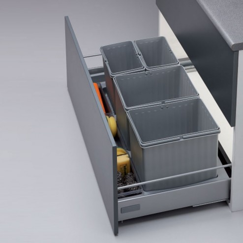 Cubo basura reciclaje J Cajon 90 cms