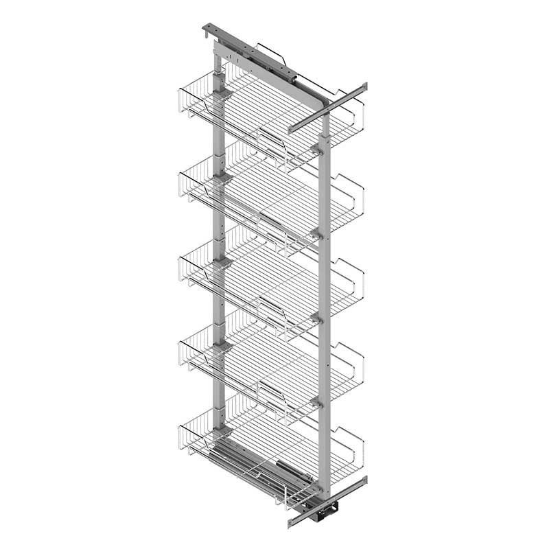 Columna extraible despensero para mueble de cocina for Mueble columna cocina
