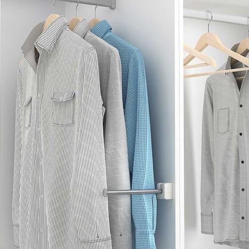 Protector de Mangas/Soporte para trajes para Armario o Vestidor