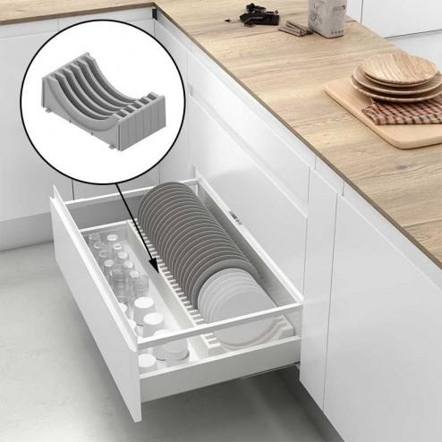 soporte para platos para caj n cacerolero de cocina