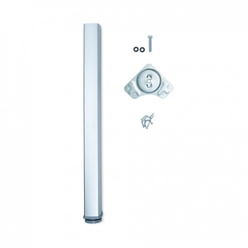 Pata Regulable para Mesa Fitwid en Aluminio