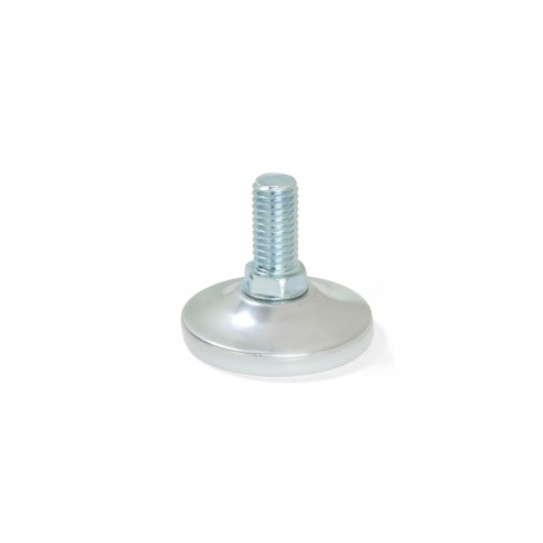 Pie Nivelador con Base Circular M10 D. 43 mm (10 uds)