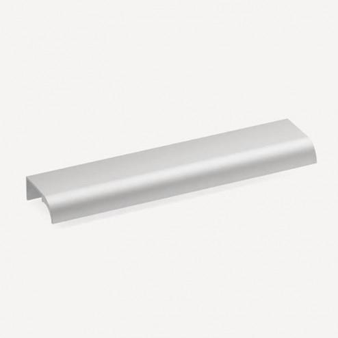 Tirador 2456 Aluminio Mate Pestaña