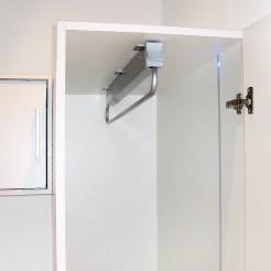 Colgador Extraíble 800 mm para Armario Self