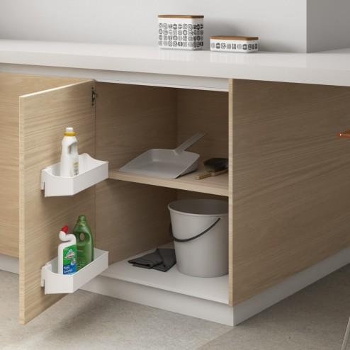 Juego de bandejas 350 mm de almacenaje auxiliar para mueble for Mueble almacenaje cocina